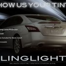 2009-2012 Nissan Maxima Tinted Smoked Tail Lamps Lights Overlays Film Protection