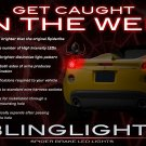 Pontiac Solstice Custom LED Tail Lamps Lights Bulbs Set Kit