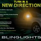 Nissan Frontier Side Mirror LED Turnsignals Lights Turn Signals Lamps Mirrors Light Lamp Signalers