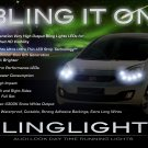 Kia Venga LED DRL Strip Lights for Headlamps Headlights Head Lamps Day Time Running Strips DRLs