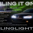 Pontiac Grand Am LED DRL Strip Lights for Headlamps Headlights Head Lamps Day Time Running Strips