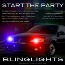 Pontiac Grand Am Strobe Lights Headlamps Taillamps Headlights Taillights Head Tail Lamps Strobes Kit