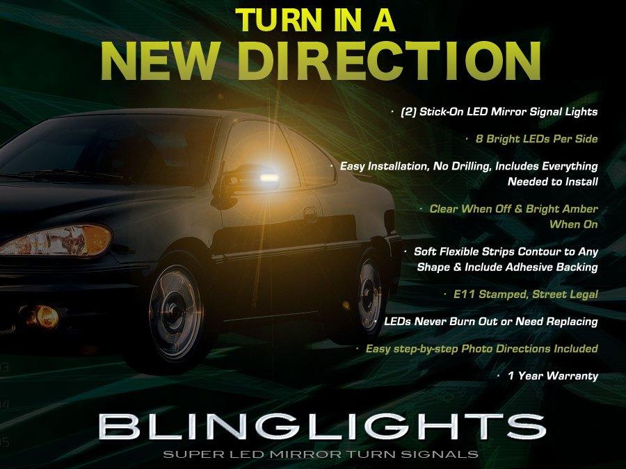 Pontiac Grand Am LED Side Mirror Turnsignal Light Covers