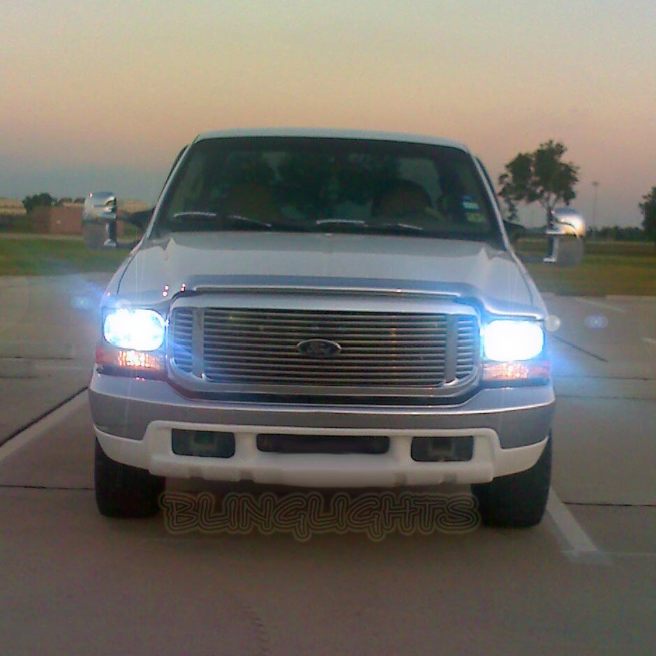 Ford F-250 F250 for Xenon HID Conversion Kit Headlamps Headlights Head Lamps Lights Super Duty HIDs