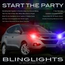 Hyundai Tucson Strobe Lights for Headlamps Headlights Head Lamps Lamp Light Strobes Kit