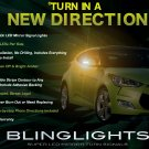 Hyundai Veloster LED Side View Mirror Turnsignals Lights Turn Signals Lamps Mirrors Light Signalers