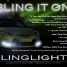Hyundai Veloster LED DRL Strips Day Time Running Lights Headlamps Headlights Head Lamps