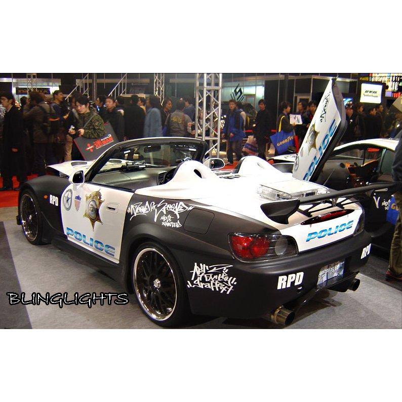 2000-2009 Honda S2000 Strobe Lights for Headlamps Headlights Head Lamps Police Strobes Kit