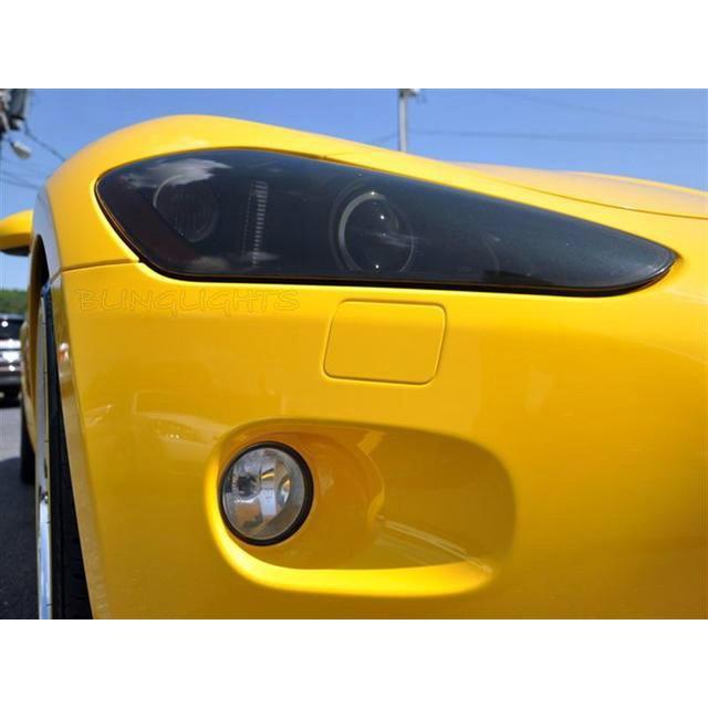 Maserati GranTurismo Tint Smoke Overlays for Headlamps Headlights Head Lamps Lights Protection Film