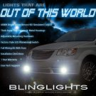 2011 2012 2013 Chrysler Grand Voyager Xenon Foglamps Foglights Fog Driving Lamps Lights Kit