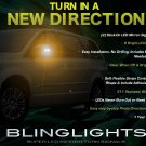 Chrysler Grand Voyager Side View LED Mirror Turnsignals Turn Signals Mirrors Signalers Lights Lamps
