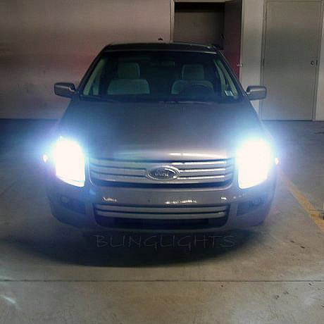 2006 2007 2008 2009 Ford Fusion Bright White Light Bulbs for Headlamps Headlights Head Lamps Lights