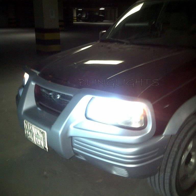 1999 2000 2001 2002 2003 2004 Suzuki Grand Vitara Bright Light Bulbs for Headlamps Headlights Lights