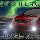 2007 2008 2009 2010 2011 2012 Nissan Sentra Xenon LED Fog Lamps Driving Lights Foglamps Kit