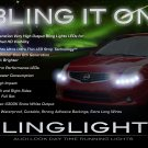 Nissan Sentra LED DRL Light Strips for Headlamps Headlights Head Lamps Day Time Running Strip Lights
