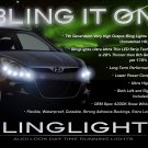 Hyundai i20 ix20 LED DRL Light Strips Headlamps Headlights Head Lights Strip Lamps LEDs DRLs