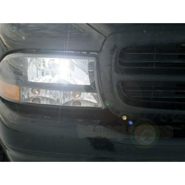 Dodge Durango Bright Head Lamp Light Bulbs Replacement Upgrade Set Pair