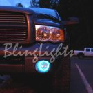 2005 2006 2007 Dodge Dakota White Halo Angel Eye Fog Lights Lamps Kit
