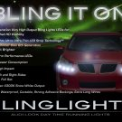 Pontiac Vibe LED DRL Light Strips Headlamps Headlights Head Lights Strip Lamps LEDs DRLs