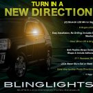 GMC Terrain LED Side View Mirror Turnsignals Lights Turn Signals LEDs Mirrors Lamps Signalers