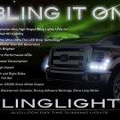 Ford F-550 Super Duty LED DRL Strip Lights for Headlamps Headlights F550 SuperDuty Head Lamps DRLs