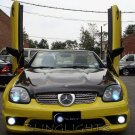 2001 2002 2003 2004 Mercedes-Benz SLK 32 AMG LED Foglamps Fog Lamps R170 Sport SLK32 Lights Kit