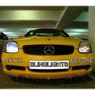 1996 1997 1998 1999 2000 Mercedes-Benz SLK R170 Bright Light Bulbs for Halogen Head Lamps Lights