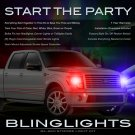 Ford Expedition Police Strobes for Headlamps Headlights Head Lamps Lights Strobe Light Lamp Kit