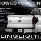 Ford F-150 F150 Tinted Smoked Taillamps Taillights Overlays Film Protection