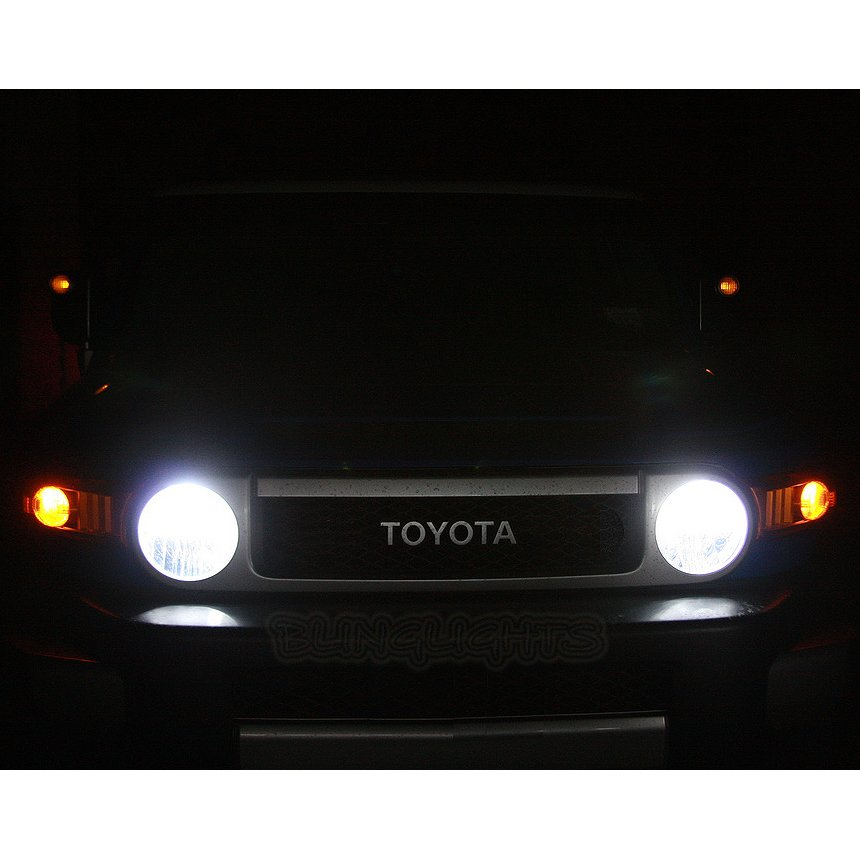 Toyota FJ Cruiser Bright White Light Bulbs for Headlamps Headlights Head Lamps Lights