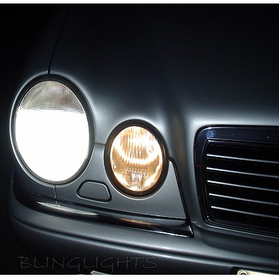 1995 1996 1997 1998 1999 2000 2001 2002 Mercedes-Benz E-Class W210 Bright Head Lamp Light Bulbs