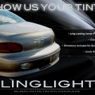 Chrysler LHS Tinted Smoked Taillamps Taillights Tail Lamps Lights Protection Overlays Film