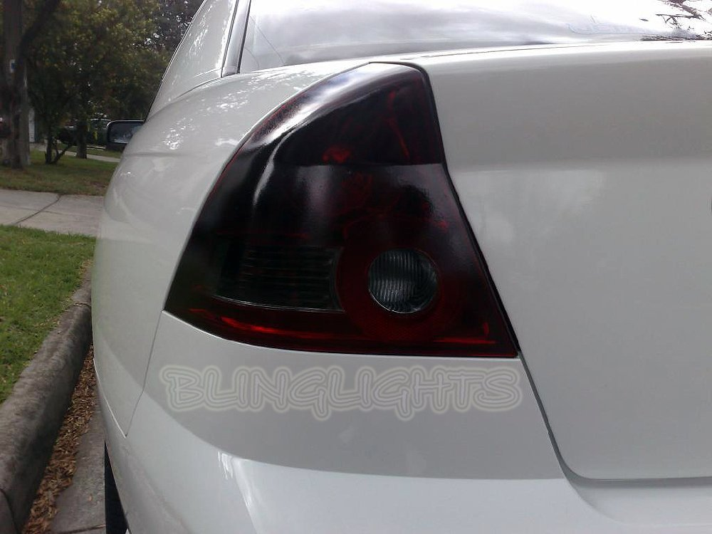 Chevrolet Chevy Lumina Tinted Smoked Protection Overlays for Taillamps Taillights Tail Lamps Lights