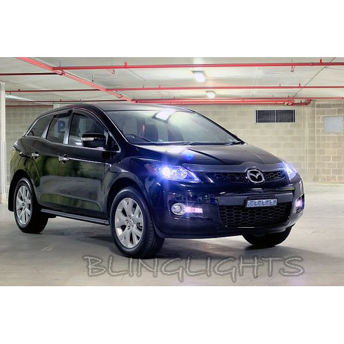 Mazda CX-7 CX-9 Replacement Light Bulbs for OEM Xenon HID Headlamps Headlights Head Lamps Lights
