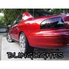 Mercury Sable Tinted Smoked Taillamp Taillight Overlays Film Protection