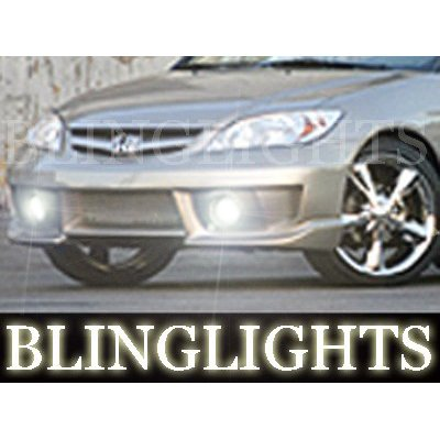 2004 2005 Honda Civic Erebuni Body Kit Bumper Foglamps Fog Lamps Driving Lights