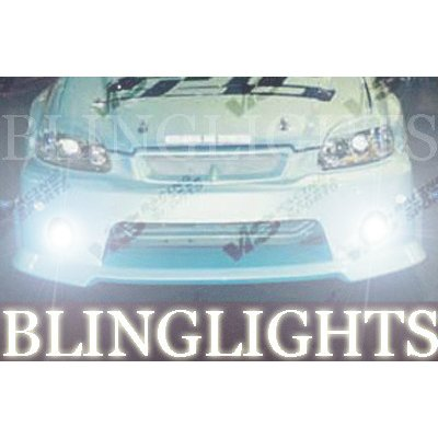 1996 1997 1998 1999 2000 Honda Civic VIS Racing Body Kit Bumper Foglamps Fog Lamps Driving Lights