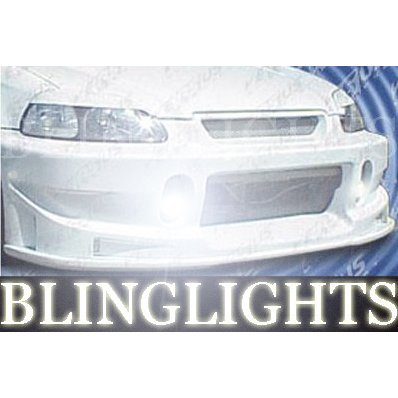 1996 1997 1998 1999 2000 Honda Civic Pure Body Kit Bumper Foglamps Fog Lamps Driving Lights