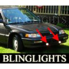 1988 1989 1990 1991 Honda Civic Sedan Hatch Wagon STD DX LX EX Xenon Fog Lamps Driving Lights Kit
