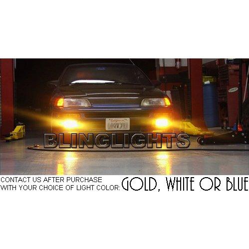 1988 1989 1990 1991 Honda CR-X Civic CRX Si SiR Foglamps Foglights Driving Lamps Fog Lights Kit