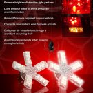 White 1157 Spider Lite Bulbs Dual Intensity Tail Lamp Replacement Light Bulbs Set