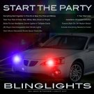 Pontiac Grand Prix Police Strobes Light Kit for Headlamps Headlights Head Lamps Strobe Lights