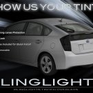 Toyota Prius Tinted Smoked Protection Overlays Film for Taillamps Taillights Tail Lamps Lights