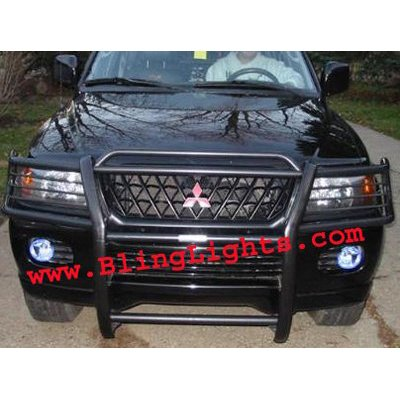 2001 2002 2003 2004 Mitsubishi Pajero Sport Xenon Foglamps Foglights Fog Lamps Driving Lights Kit