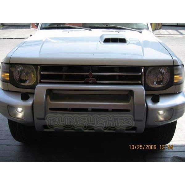 1997 1998 1999 2000 2001 Mitsubishi Pajero Xenon Fog Lamps Driving Lights Foglamps Foglights Kit