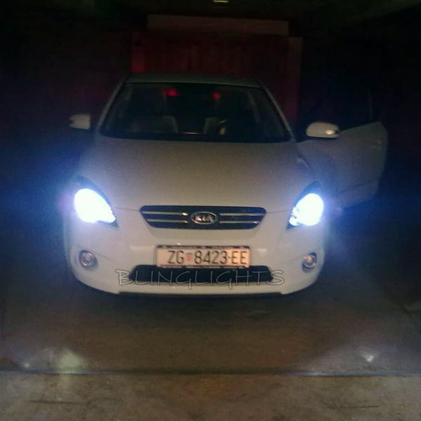 Kia Pro Cee'd Ceed Bright White Replacement Light Bulbs for Headlamps Headlights Head Lamps Lights