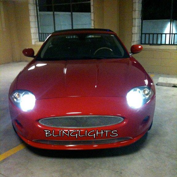 Jaguar XK Replacement HID Light Bulbs Set for X150 Xenon Headlamps Headlights Head Lamps Lights