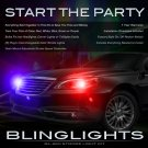 Chrysler 200 Strobe Light Kit for Head and Tail Lamps Multi-Color