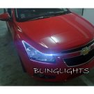 Holden Cruze LED DRL Head Lamp Light Strips Day Time Running Kit