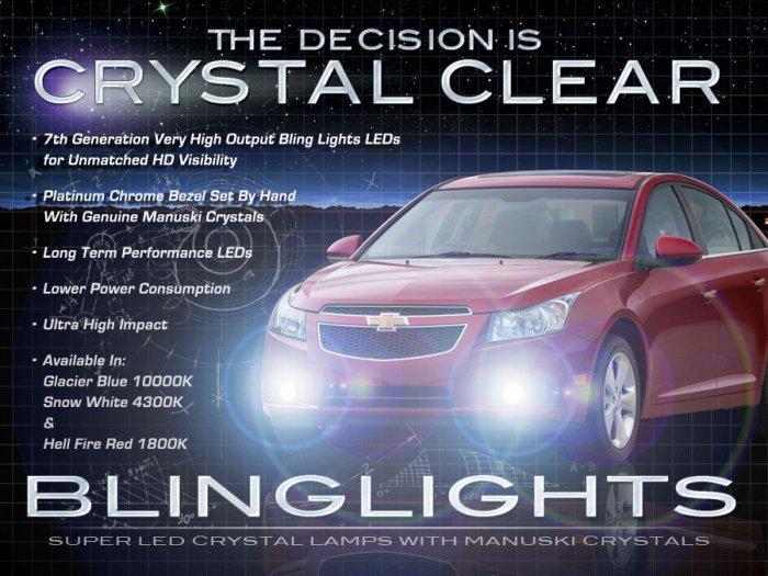 2008-2014 Holden Cruze LED Fog Lamps Driving Lights Kit